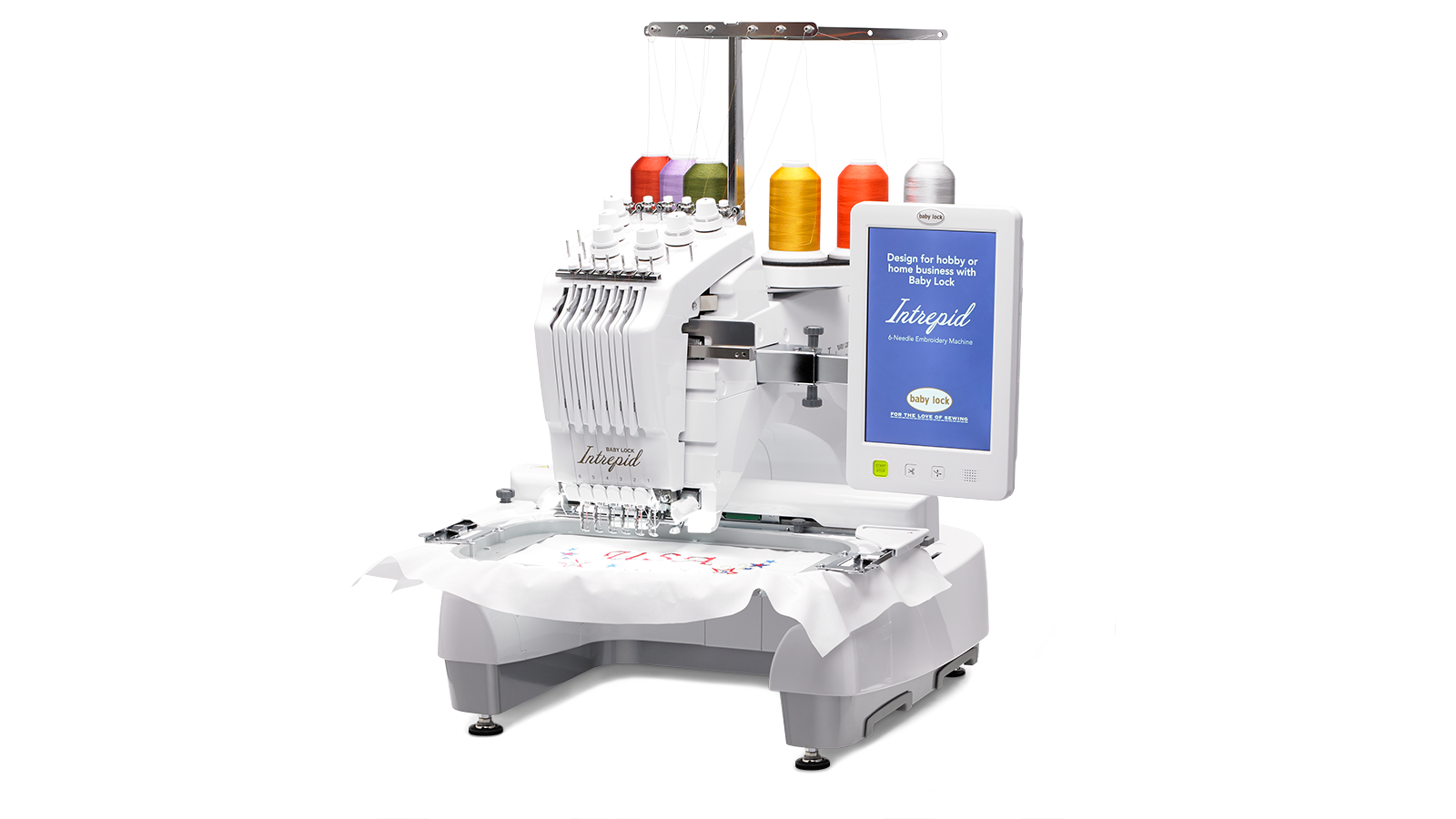 Baby Lock Intrepid Multi-Needle Embroidery Machine