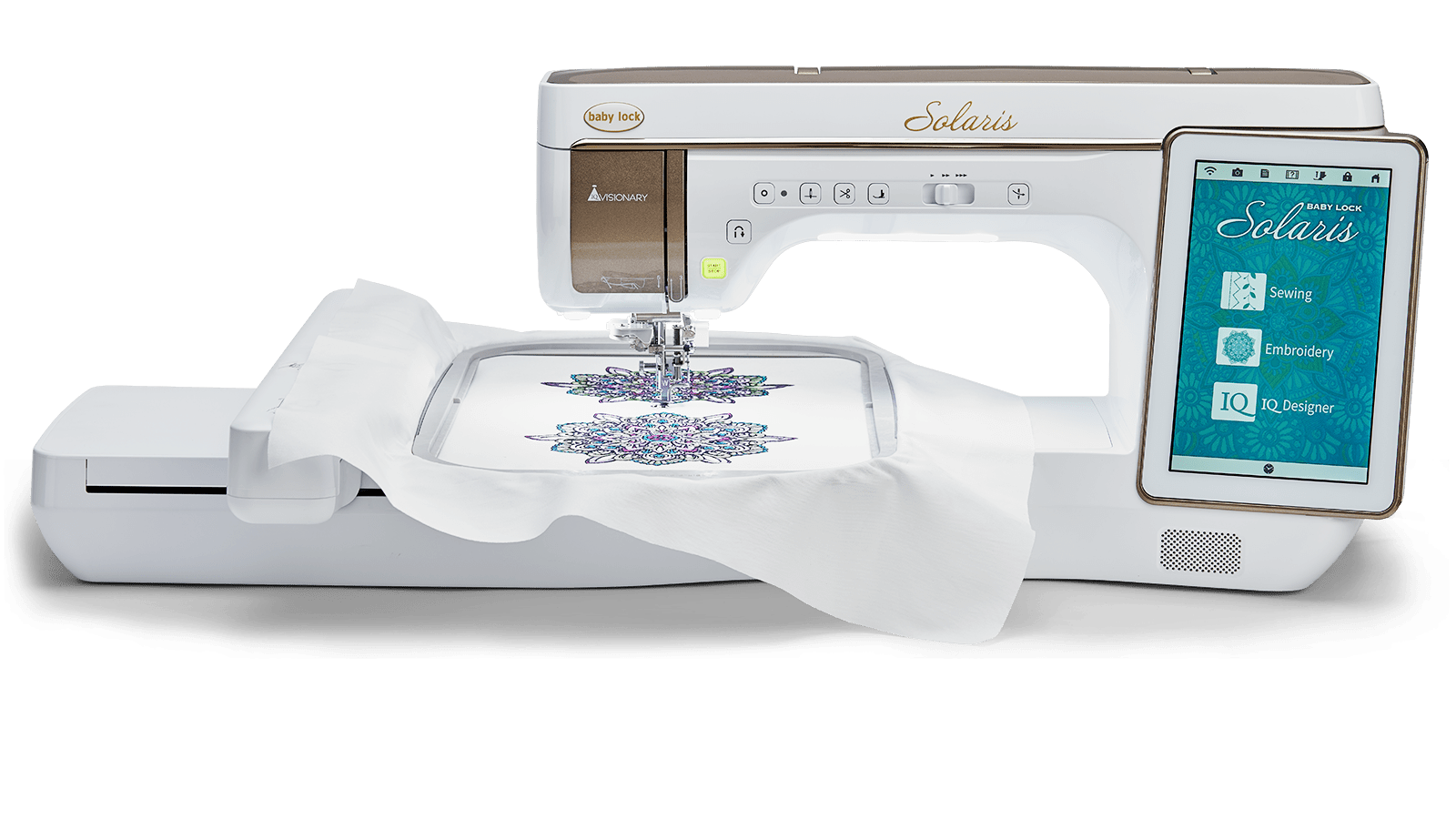 Baby Lock Solaris embroidery machine