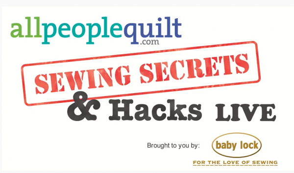APQ Baby Lock Sewing Secrets and Hacks