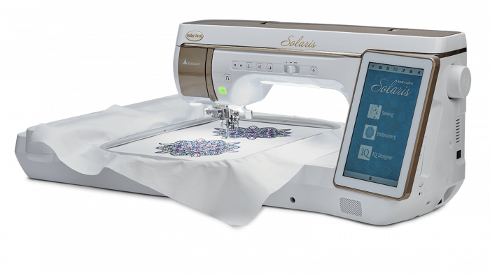 Solaris - Single-needle-embroidery Machine - Baby Lock Products