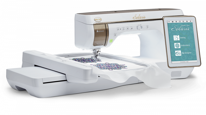 Baby Lock Solaris embroidery and sewing machine