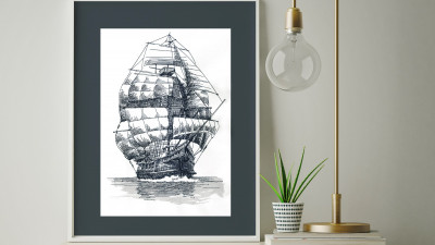 Embroidered_Nautical_Framed_Art.jpg