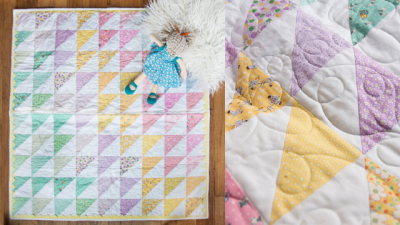 Sherbet Baby Quilt Project Image