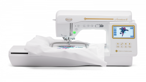Baby Lock Aventura II embroidery and sewing machine