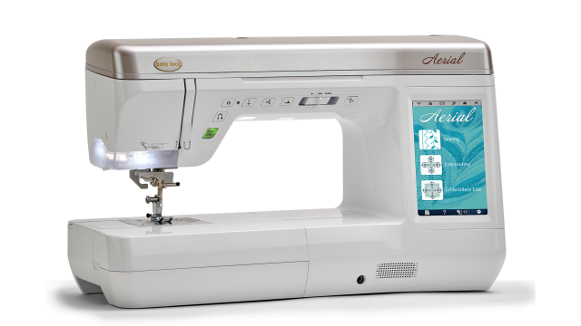 Baby Lock Aerial embroidery and sewing machine