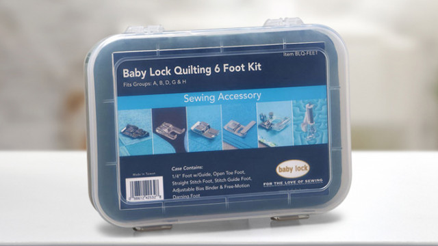 baby lock BL9 Foot Kit BL9-FEET Sewing Accessory