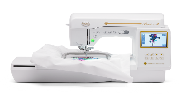Baby Lock Aventura 2 embroidery and sewing machine