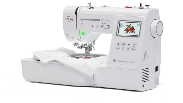 Baby Lock Verve embroidery and sewing machine