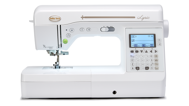 Baby Lock Lyric Sewing and Quilting Machine